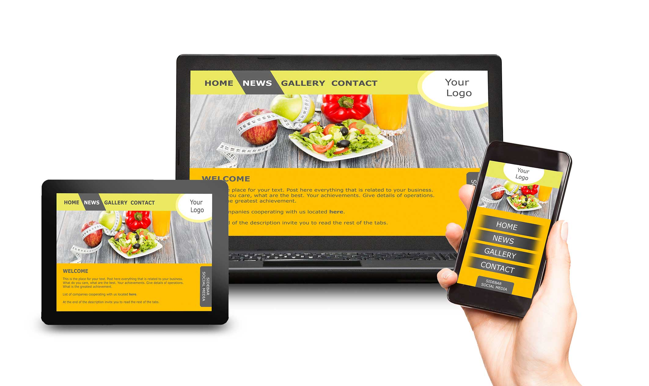 Kreative Kommunikation Homepage erstellen AdobeStock 110672384 Webdesign responsive frei