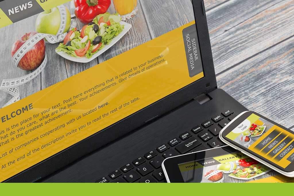 Online Marketing   Homepage erstellen