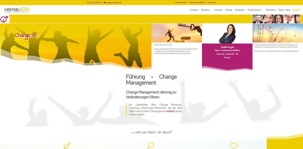 Kreative Kommunikation Wordpress Beispiele kreyselblick 1
