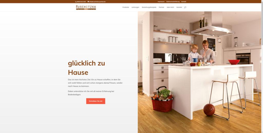 Kreative Kommunikation Wordpress Beispiele ruschitzka parkett